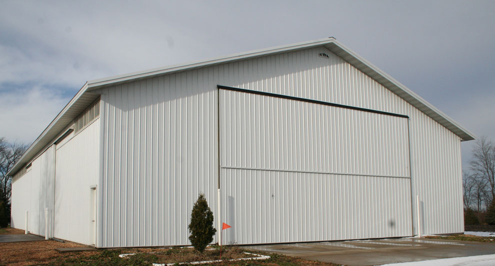Steel Cold storage pole barn