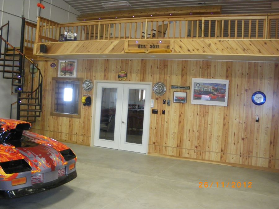 Man Cave Store Newmarket : Kansas farmer s mancave farm machinery and dragrace garage