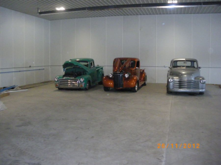 Collector Cars in mancave