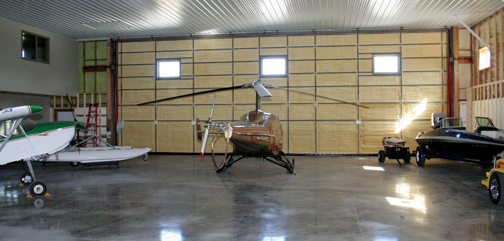 All-weather hydraulic door