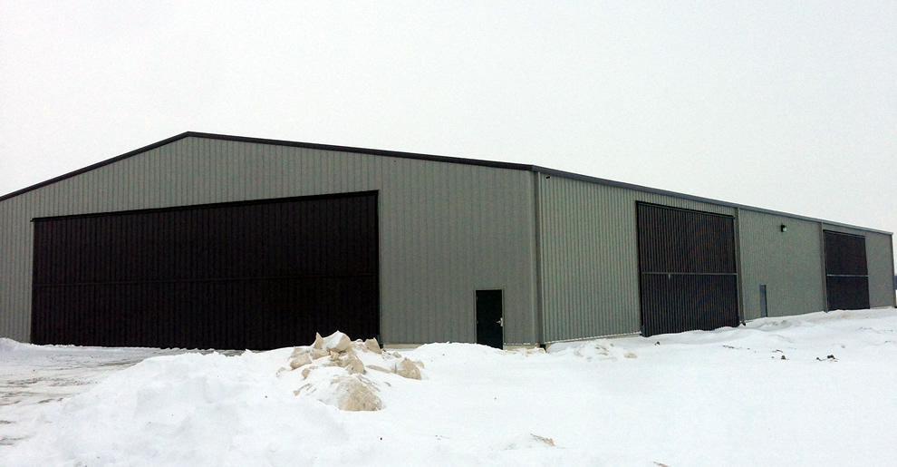 100 ft. x 202 ft. steel equipment building