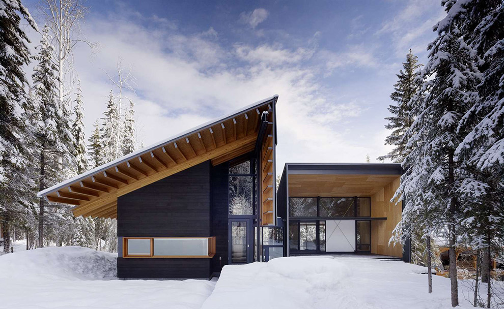 Uniquely designed home in the mountains of British Columbia