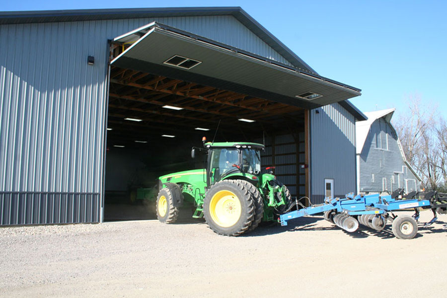Planning for the future as farm equipment keep getting larger.