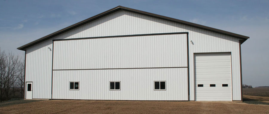 Farm storage building