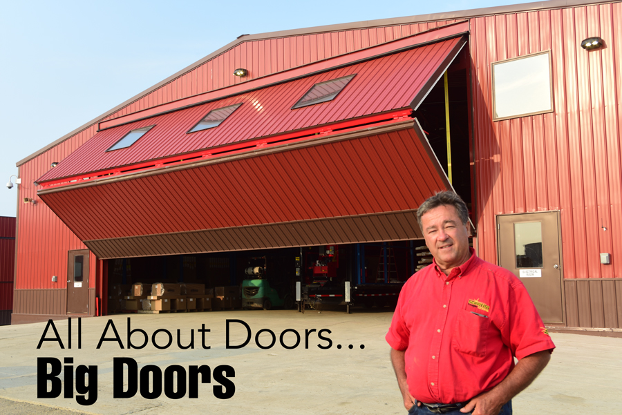 Mike Schweiss - Owner and founder of Schweiss Doors