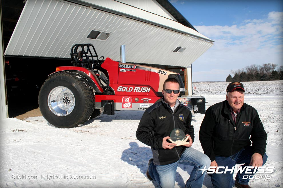 gold rush tractor pull team farm stories schweiss doors on 01 Arctic Cat 250 Wiring Diagram for jason rosenquist hold the second place trophy at Cat Wiring Diagrams