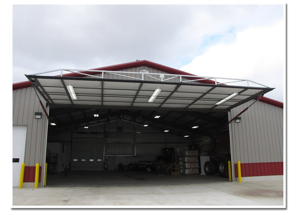 OHIO HYDRAULIC DOOR & Dulin Farms Red Power Door | Schweiss Must See Photos