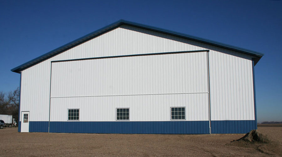 Farm cold storage machine shed