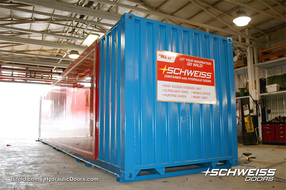 Schweiss Container with Hydraulic Doors