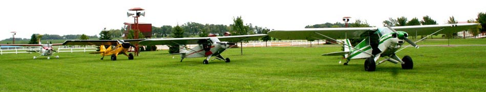 Aircraft at Schweiss fly-in