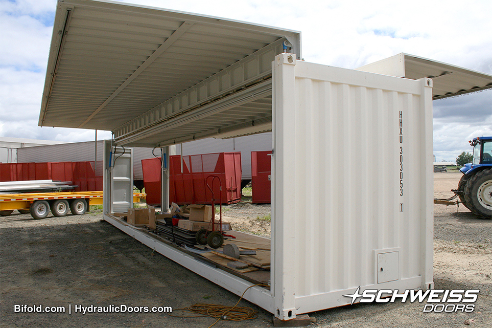 Schweiss Doors Container Project