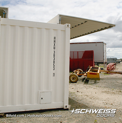 Swing Out Container Door Project