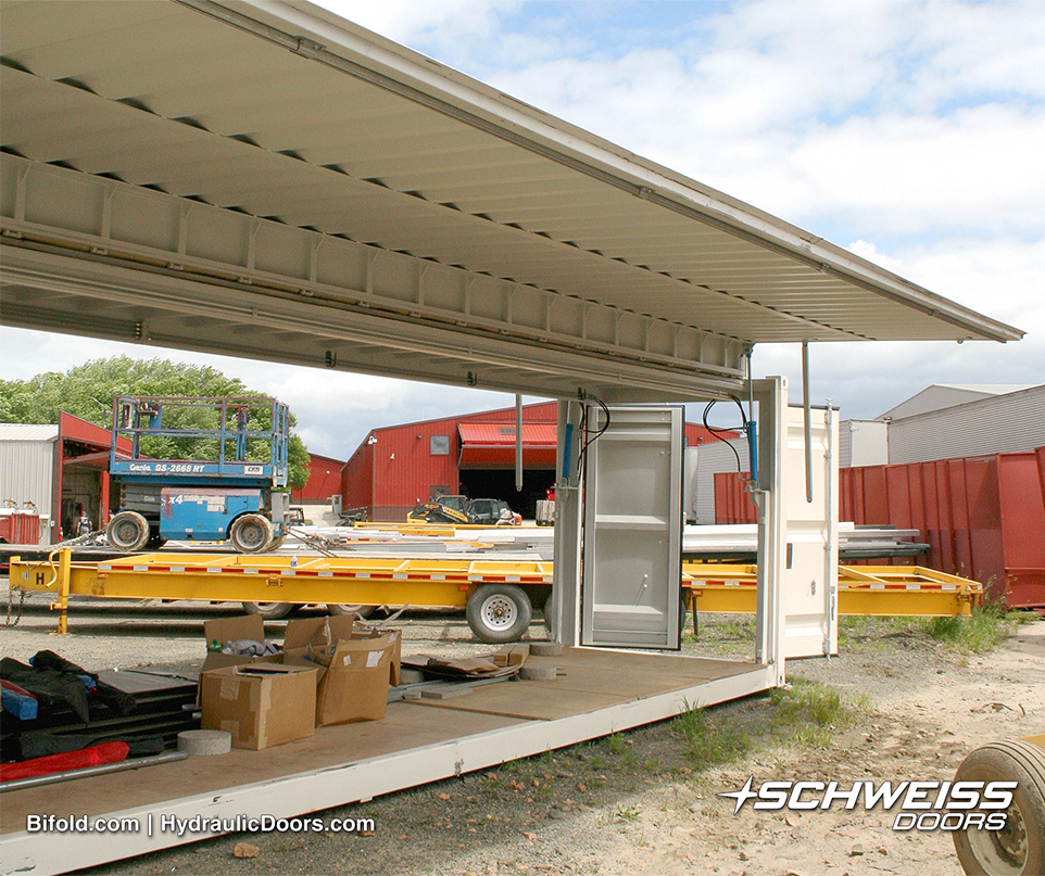 Hydraulic Cylinders lift Container Doors up