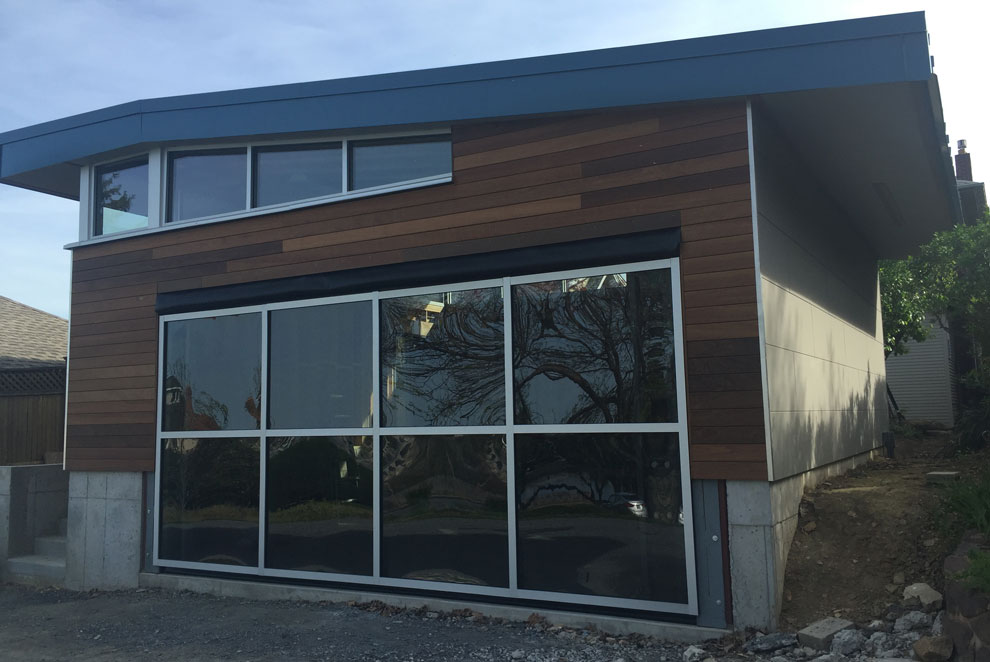 Lexan garage door windows