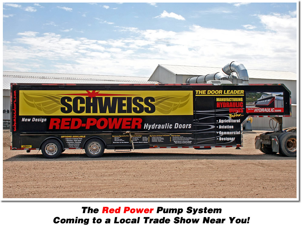 The Red Power Pump System Coming to a Local Trade Show Near You!