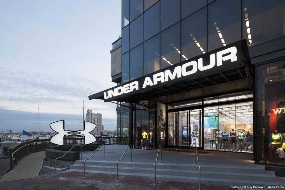 Under Armour Storefront Baltimore Schweiss Must See Photos