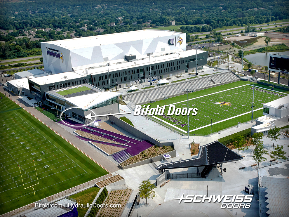 Vikings Headquarters after finished