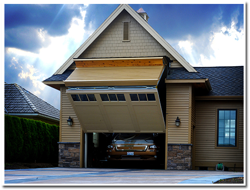 Korthuis rv garage door lynden wa schweiss must see photos for Custom rv garages
