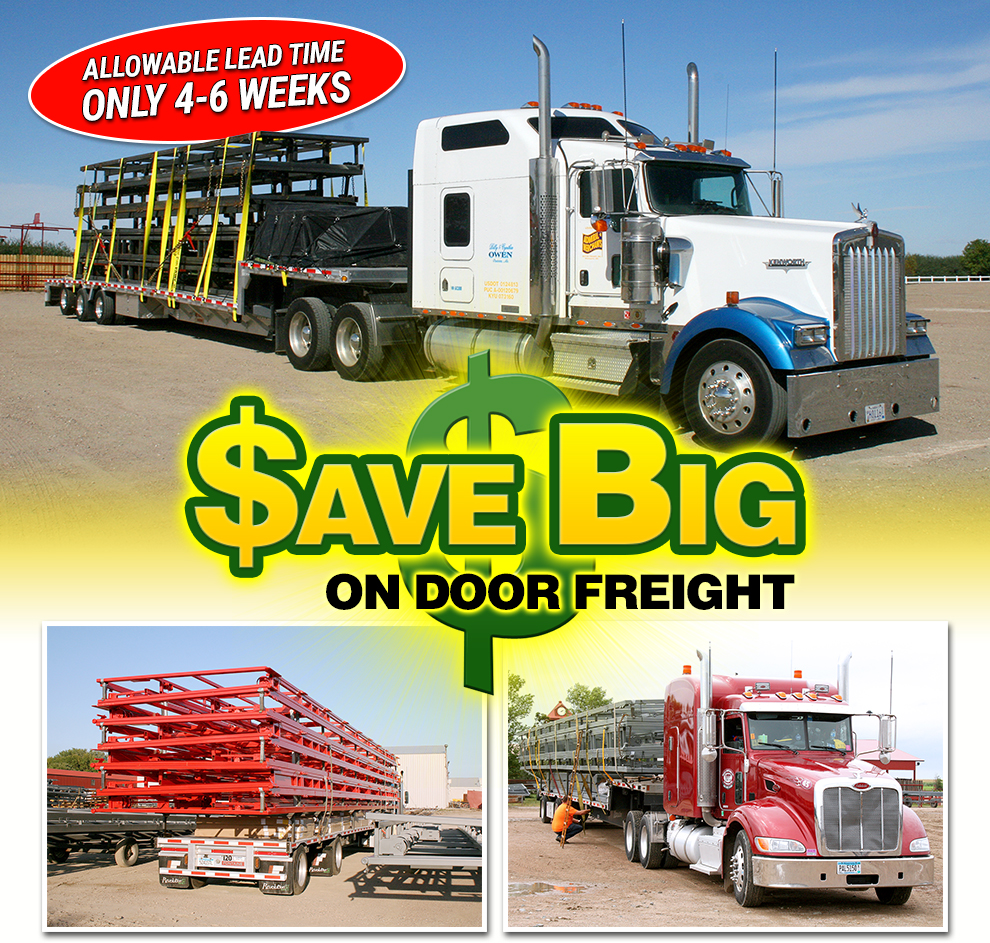 Save Big on Door Freight