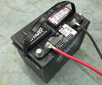 12 Volt Battery Back-Up