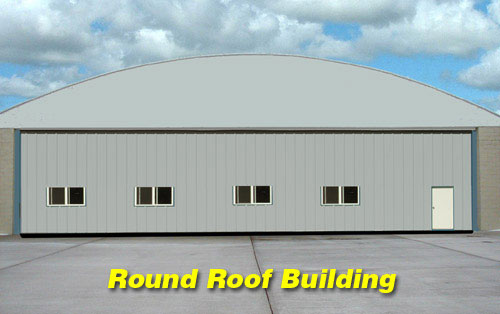 Schweiss Hydraulic Doors for Round Roof Buildings