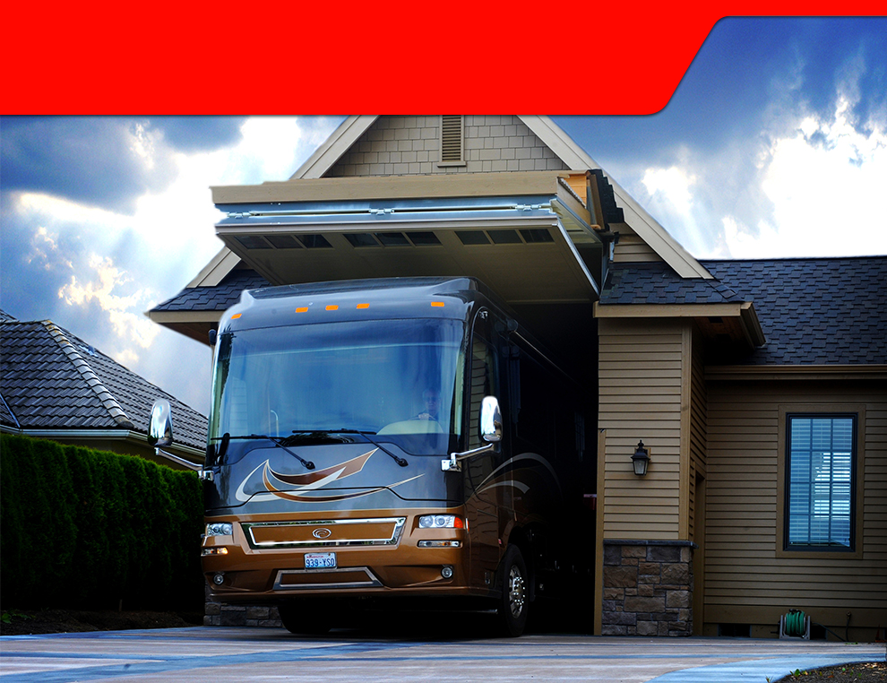 Schweiss rv garage doors schweiss doors for How tall is an rv garage door