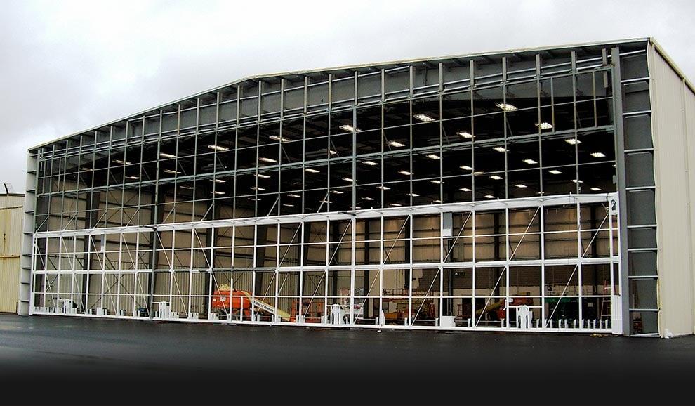 Bifold Doors - Frames   Aircraft Hangar Headroom