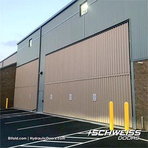 Schweiss Doors on Storage Facilities