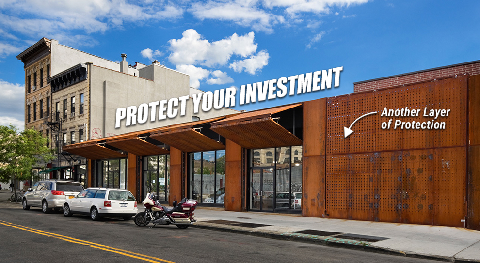 Protect Your Investment Security Doors