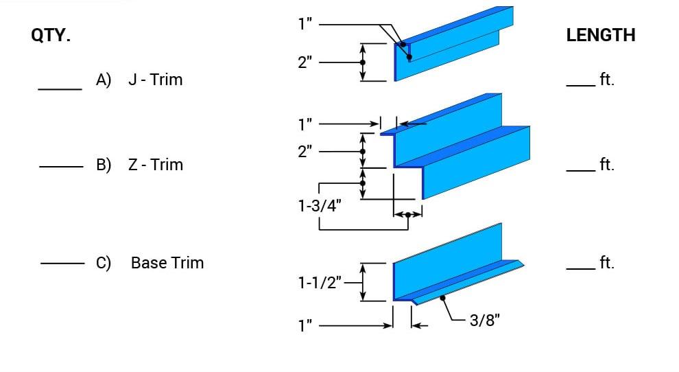 Sheeting Amp Siding For Vertical Bifold Doors Decorative