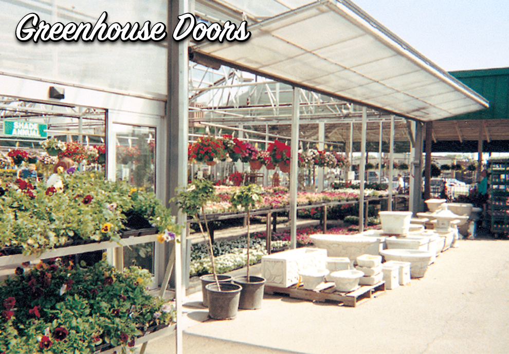 Schweiss Greenhouse Doors
