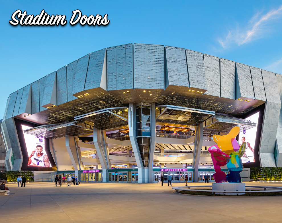 Basketball Stadium Doors