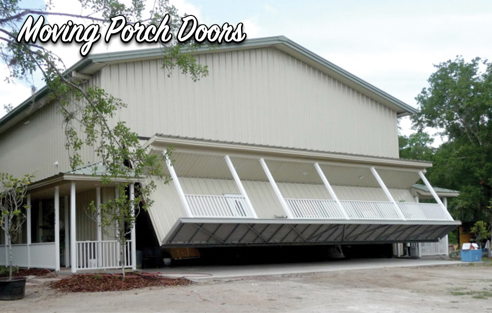 Schweiss Moving Porch Doors