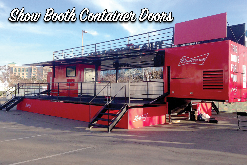 Budweiser Bar Trailer Doors in NJ