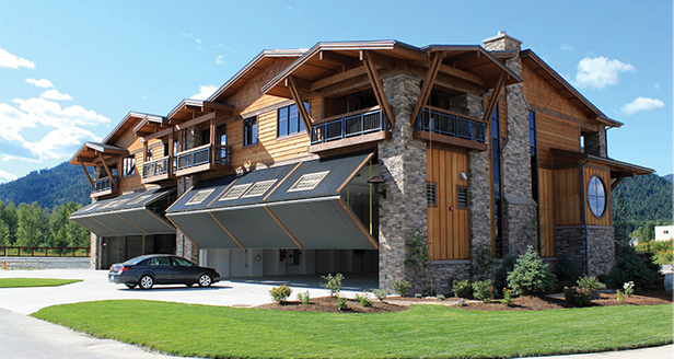 Schweiss Airpark Designer Doors in Idaho