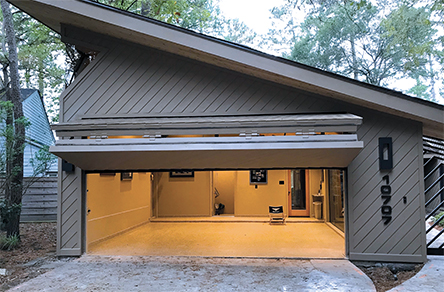 Schweiss Garage Doors in Texas are built tough