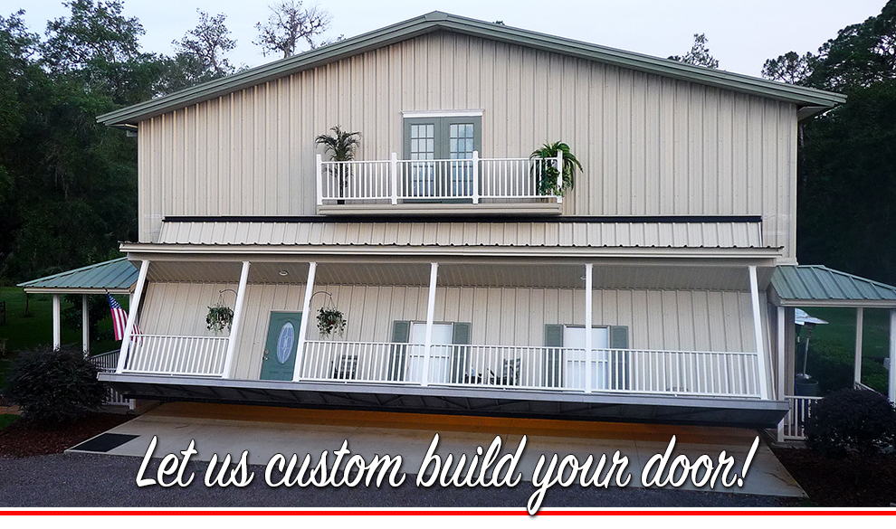 Let us custom build your door!