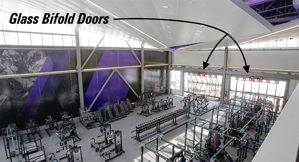 Training Room Doors