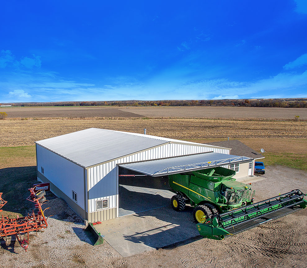 "Powerful ""One-Piece"" Hydraulic Doors Agricultural Doors"