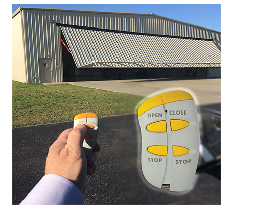 Schweiss Remote Control - use from inside any vehicle