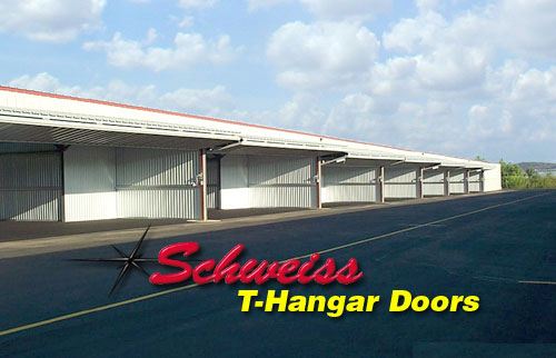 Nested T-Hangars with Bifold Doors