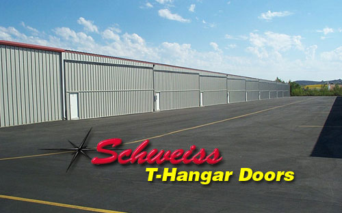 Nested Hangars with Bifold Doors Closed