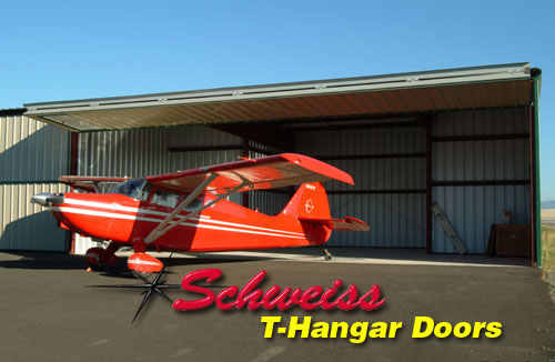 T-Hangar with Airplane Outside