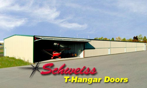 T-Hangars at an Airport