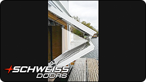 Schweiss Custom Boathouse Door in Michigan