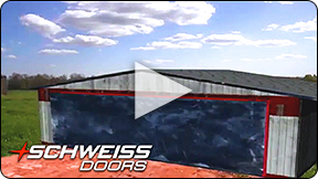 Schweiss Door is Durable, Strong, Safe and Fast.