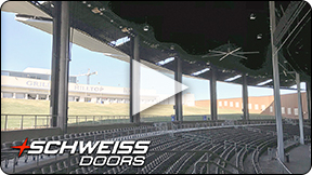 Schweiss doors opens up concert hall at Toyota Music Factory in Texas