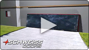 Schweiss Doors designed weathertight. Nobody does it better.