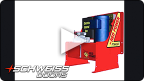 Schweiss Red Power hydraulic unit outdoes the competition.