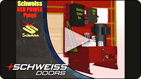 Schweiss doors features many options.